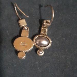 Vintage LC earrings